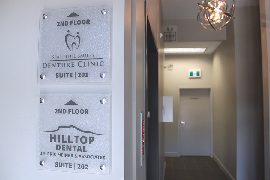 Hilltop Dental Signs