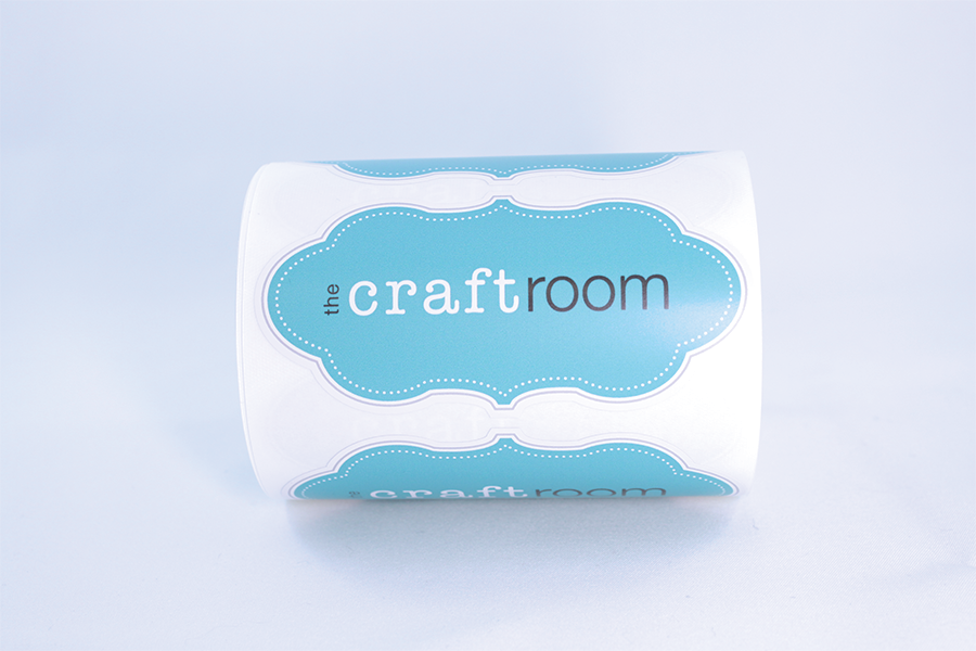 The Craft Room Label