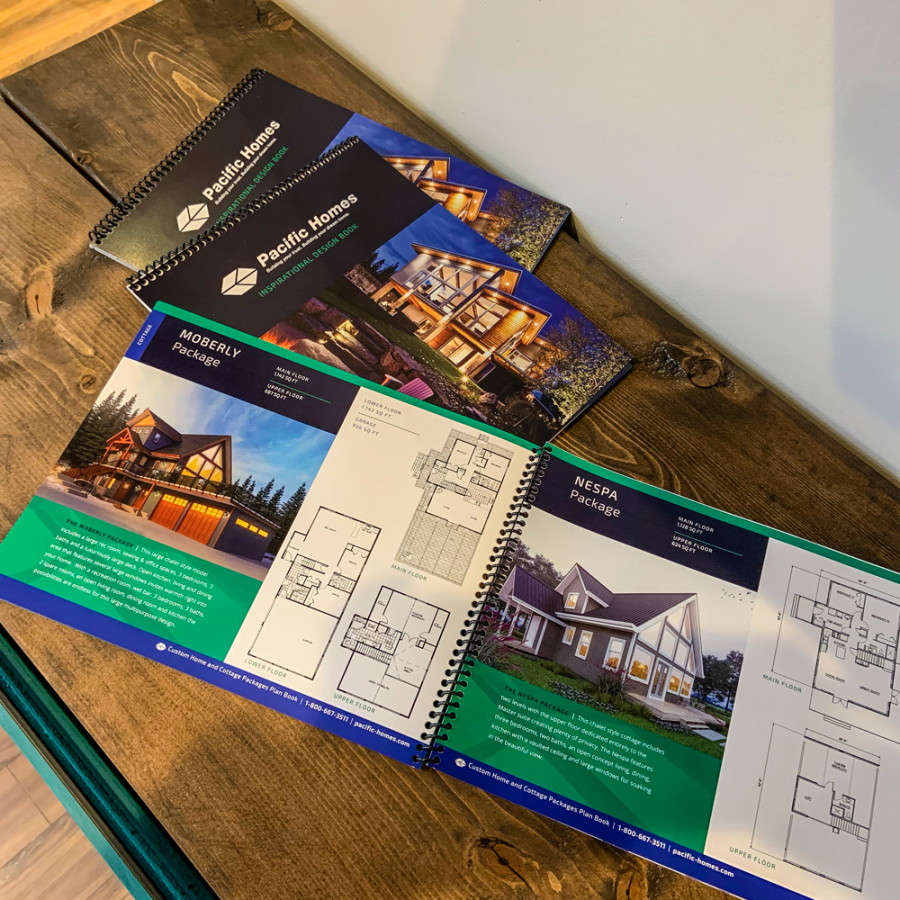 Pacific Homes Booklet Design and Printing