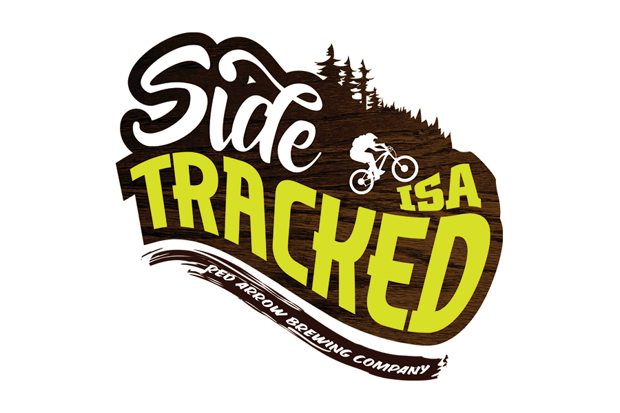 Red Arrow Brewing Side Tracked Logo Design